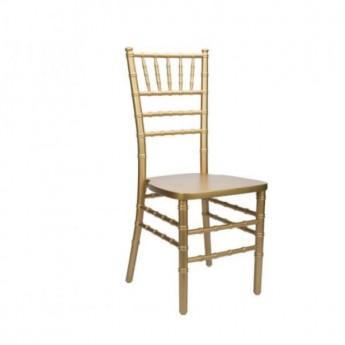 Gold Chiavari Chair Wood