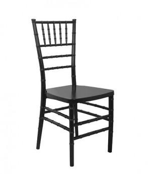 Black Stackable Wood Chiavari Chair