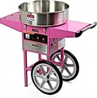Cotton Candy Machine (sugar and cones for 50 people)