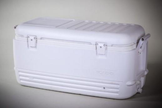 IGLO,100 QT WHITE ICE COOLER
