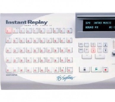 360 SYSTEMS INSTANT REPLY AUDIO CLIP PLAYER