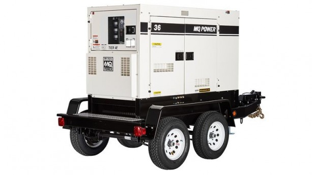 36 kW Single Phase generator with 1.0 power factor and 12/240 volt output.