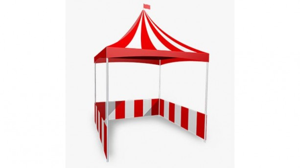 Red & White Carnival Tent