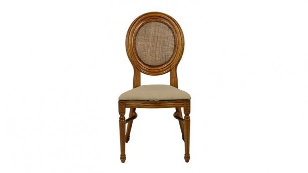 Elizabeth Ivory Stacking Dining Chair