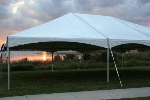 40 x 100 Deluxe Frame Tent (Festival Grade)