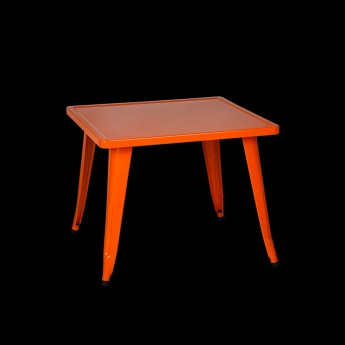 ORANGE PETITE CAFE TABLE