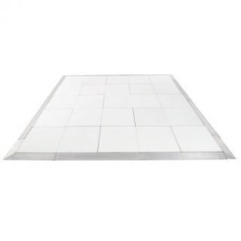 White 16x16' Dance Floor (Indoor Only)