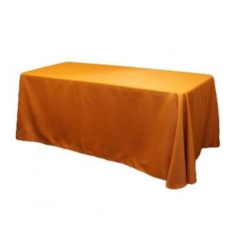 Orange 8' Table Linen