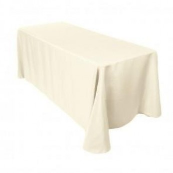 Ivory 6' Table Linen