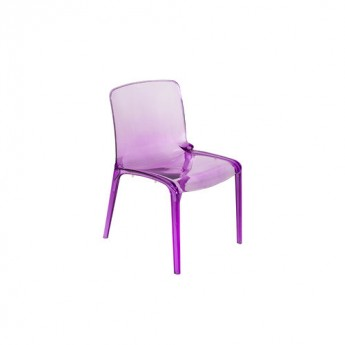 BRUNO CHAIR-Violet Acrylic