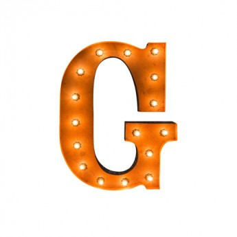 MARQUEE LETTER - G