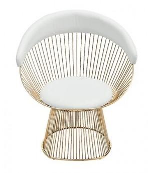 Peltier Gold Chair