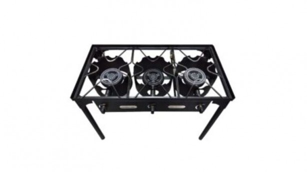 3 Burners Propane Outdoor Stove Red Snapper
