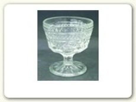 Dessert glass; Stemmed sherbet cup 7oz.