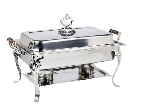 Rectangular Royal Crest Chafing Dish
