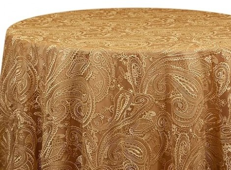 PAISLEY LACE - Gold