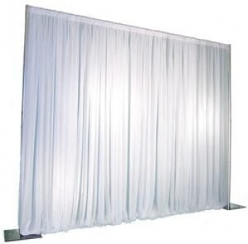 All white backdrop (7' w x 7' h) Sheer